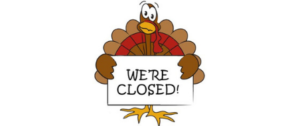 Thanksgiving Break Studio Closed